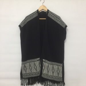 Sweaters - Knitted poncho